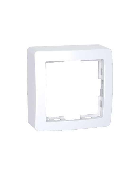 Alréa,Cadre saillie standard simple,62x62mm,profondeur 31mm,blanc polaire SCHALB61441P Prises et interrupteurs