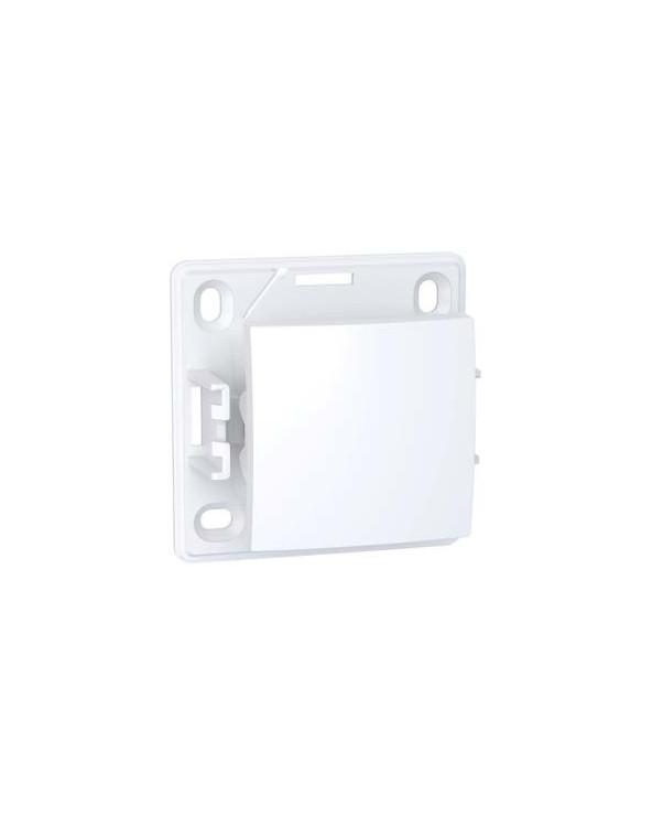 Alréa,Poussoir à fermeture,blanc polaire SCHALB61053P Prises et interrupteurs
