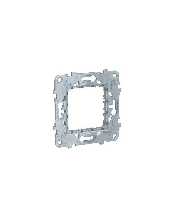 Unica - support de fixation - zamak - 2 mod SCHNU7002 Prises et interrupteurs